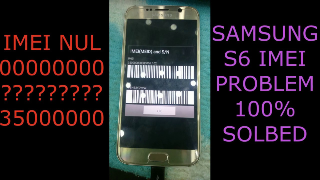 SAMSUNG G920F BASEBAND IMEI REPAIR FIX FIRMWARE | GSM COM