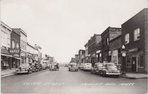 Silver Street in Hurley, Wisconsin