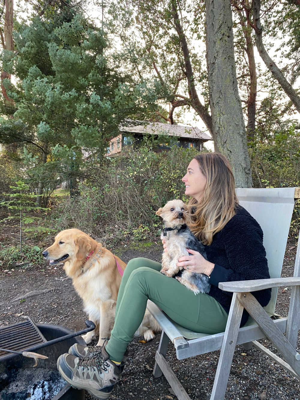 traveling with dogs to whidbey island