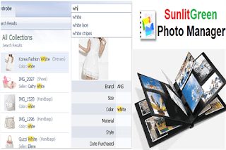 SunlitGreen Photo Manager إنشاء ألبومات وتخزين الصور وإدارتها