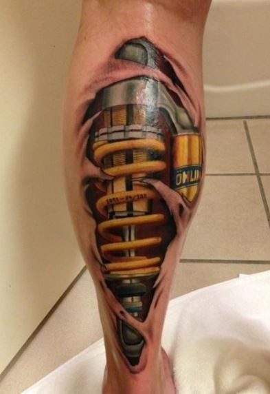 biomechanical Tattoos For Men