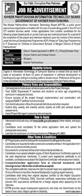 kpitb-jobs-2021-advertisement-for-district-trainer-apply-online
