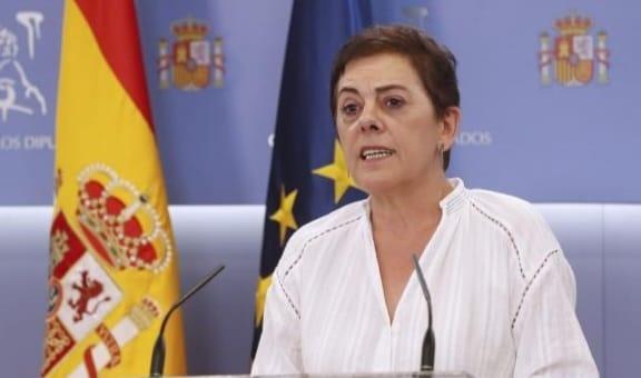 """Mertxe Aizpurua (EH Bildu) """"Ayer el PSOE demostró lo poco que vale su palabra"""""""