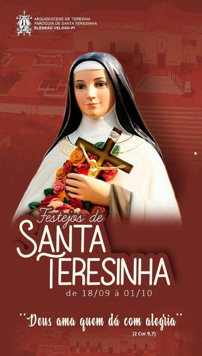 TÁ CHEGANDO!: Aberura dos Festejos de Santa Teresinha já é sábado(18/9)