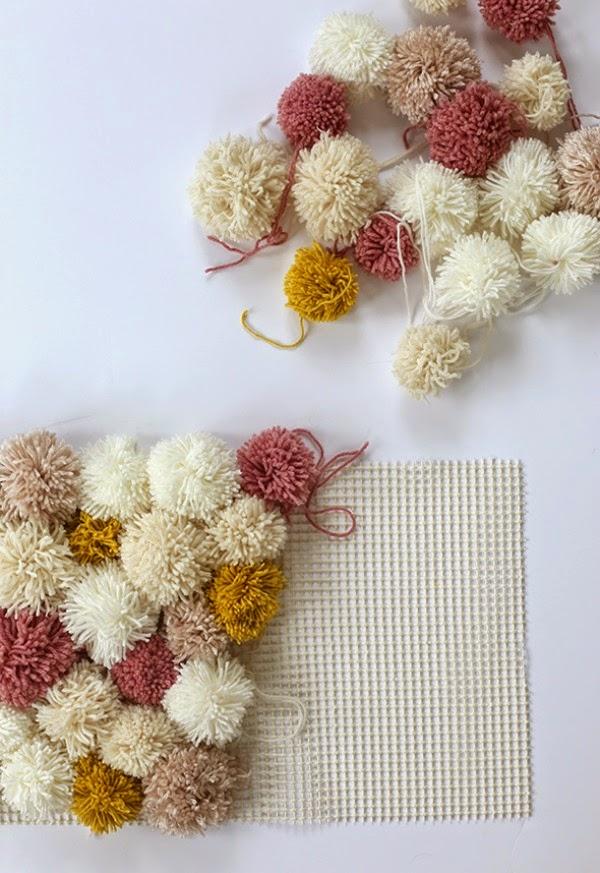 10 artesanatos com pompons