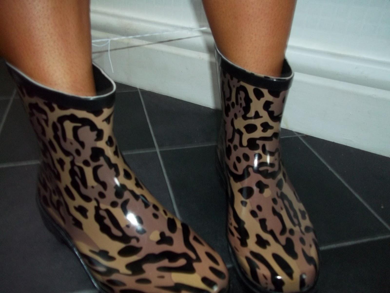 Ugg Leopard Print Wellies