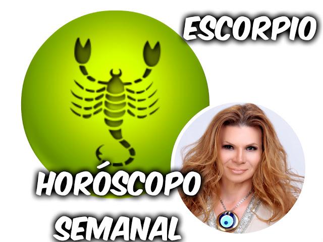 horoscopo semanal de escorpio: