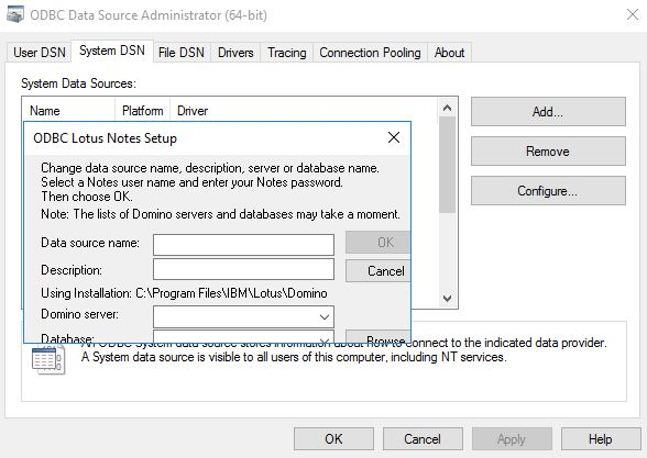 IBM LOTUS NOTESSQL DRIVERS FOR WINDOWS MAC