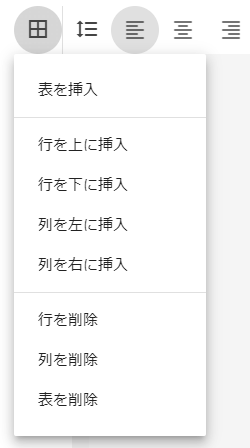 Blogger表の挿入