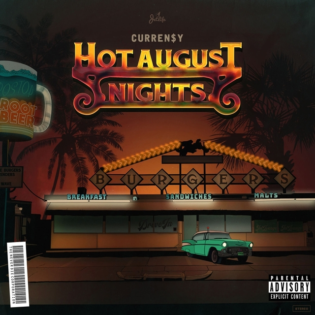 Currensy Hot August Nights cover