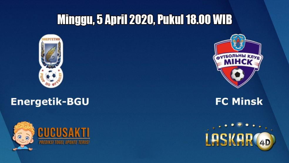 Prediksi Energetik BGU VS FC Minsk 5 April 2020