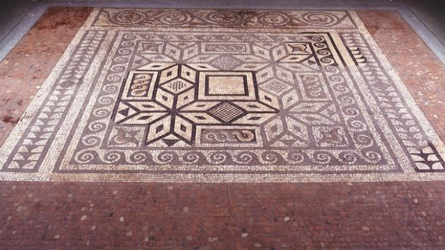 'Priceless' Roman mosaic goes on show in St Albans