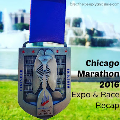 The Big Chicago Marathon 2016 Recap {Expo and Race}