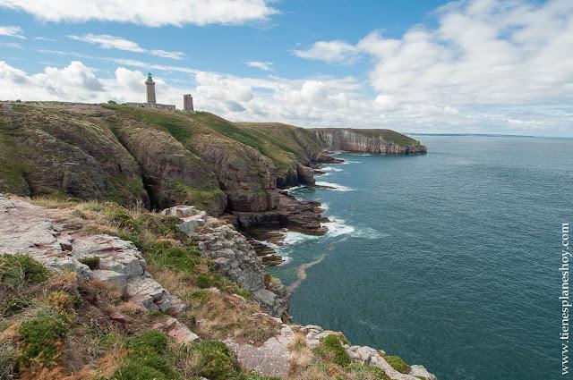 Viaje Bretaña y Normandia diario Cap Frehel
