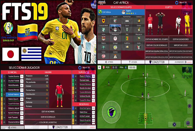 Copa America by Grabiel Latest Update - Download FTS 19 Copa America by Grabiel Latest Update