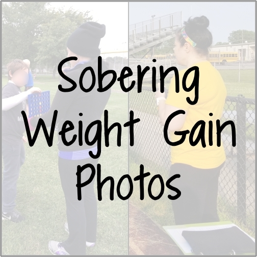 Sobering Weight Gain Photos