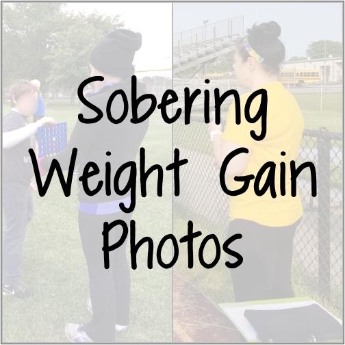Sobering Weight Gain Photos