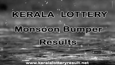 Kerala Lottery Monsoon Bumper Results