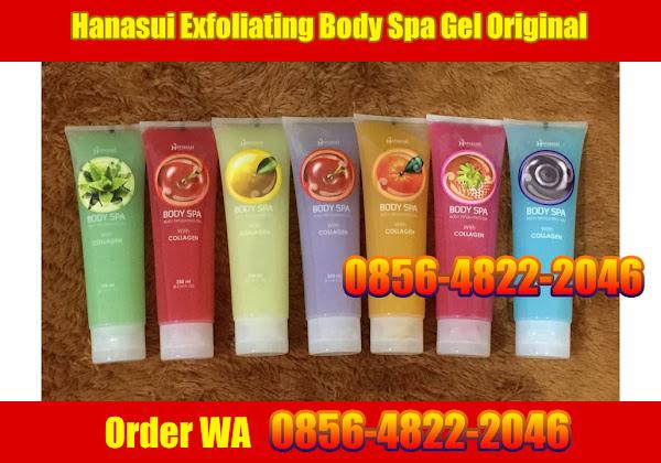 Hanasui Exfoliating Body Spa Gel Original BPOM - order WA 0856-4822-2046