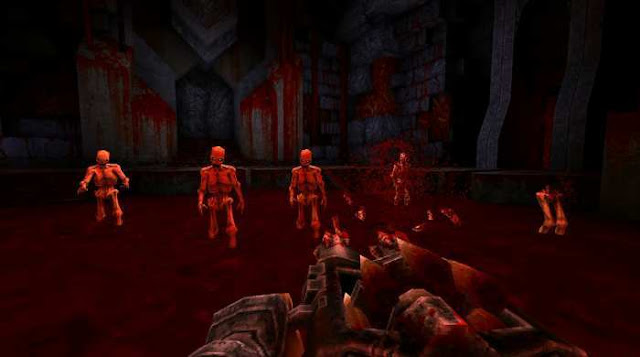 WRATH Aeon of Ruin is a first-person shooter that breaks the stereotypes of modern gamedev