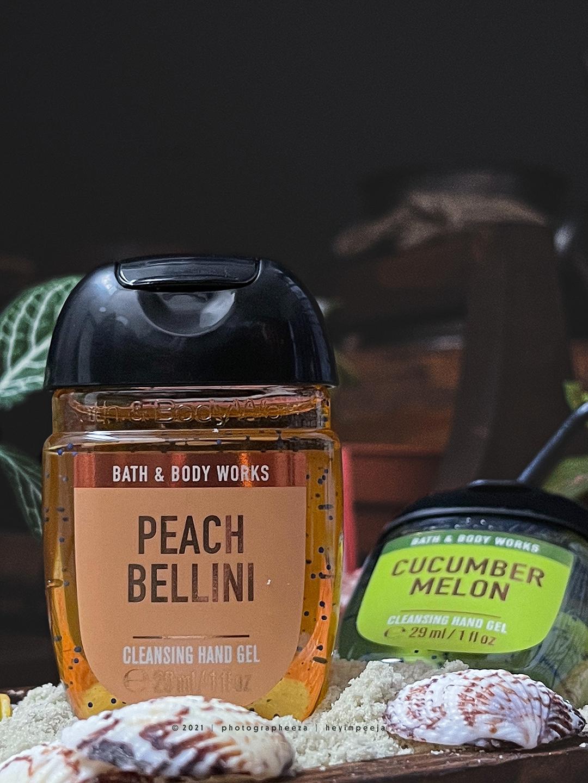Bath & Body Works PocketBac Cleansing Hand Gel Peach Bellini