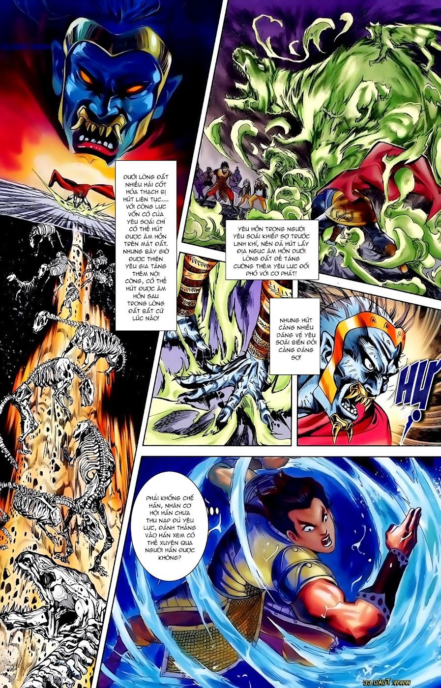 Cơ Phát Khai Chu Bản chapter 110 trang 29