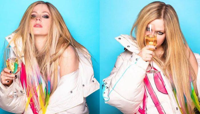 Celeb Mix: 'Flames' de Mod Sun y Avril Lavigne, la canción épica que no podría ser más perfecta