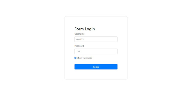 Tutorial jQuery #8 - Membuat Tombol Show Password menggunakan jQuery
