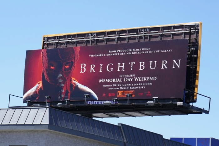 Brightburn movie billboard