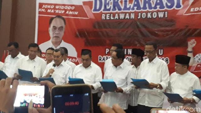 120 Pengacara Bela 12 Kepala Daerah di Riau yang Dukung Jokowi