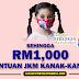 Mohon Bantuan Kanak-Kanak Sehingga RM1000 Sebulan
