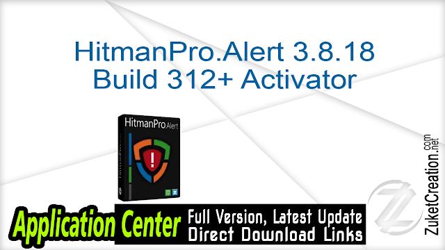 HitmanPro.Alert 3.8.18 Build 312 + Activator