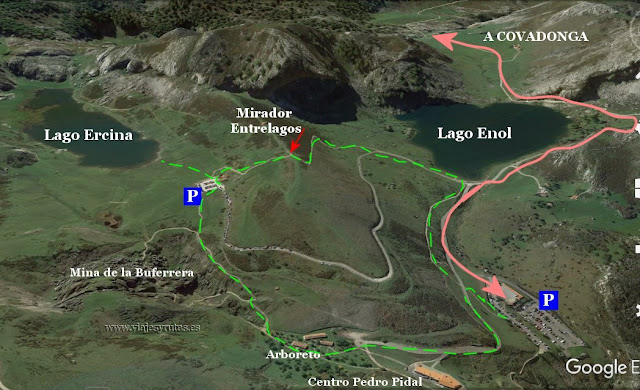 Visitando El Santuario Y Los Lagos De Covadonga