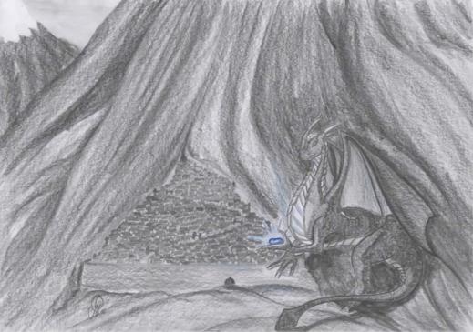 Tyrrin Hexenkater - Die Geschichte in der Geschichte: Das blaue Herz des Drachen