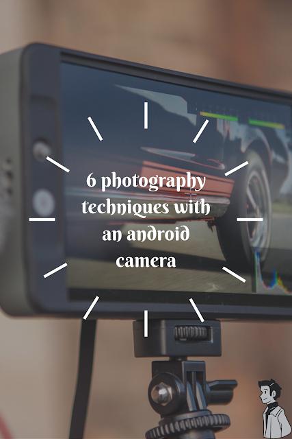 teknik foto menggunakan kamera android
