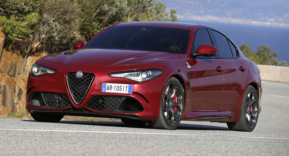 alfa romeo giulia quadrifoglio costs a crazy 1 5k a month to lease. Black Bedroom Furniture Sets. Home Design Ideas