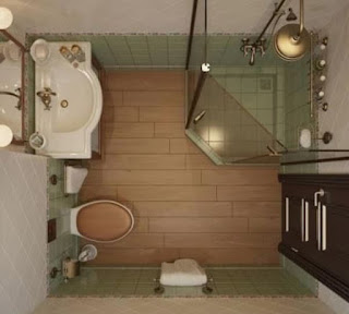 10 Desain Kamar Mandi Minimalis Ukuran Mungil Mewah Terbaru