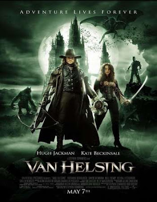 Poster Of Free Download Van Helsing 2004 300MB Full Movie Hindi Dubbed 720P Bluray HD HEVC Small Size Pc Movie Only At worldfree4u.com