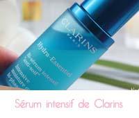 Hydra -Essentiel Bi-sérum intensif anti-soif  de Clarins