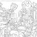 Cartoon Anthology para Colorir e Imprimir