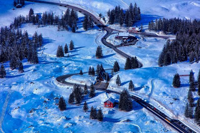 Za kierownicą w Szwajcarii