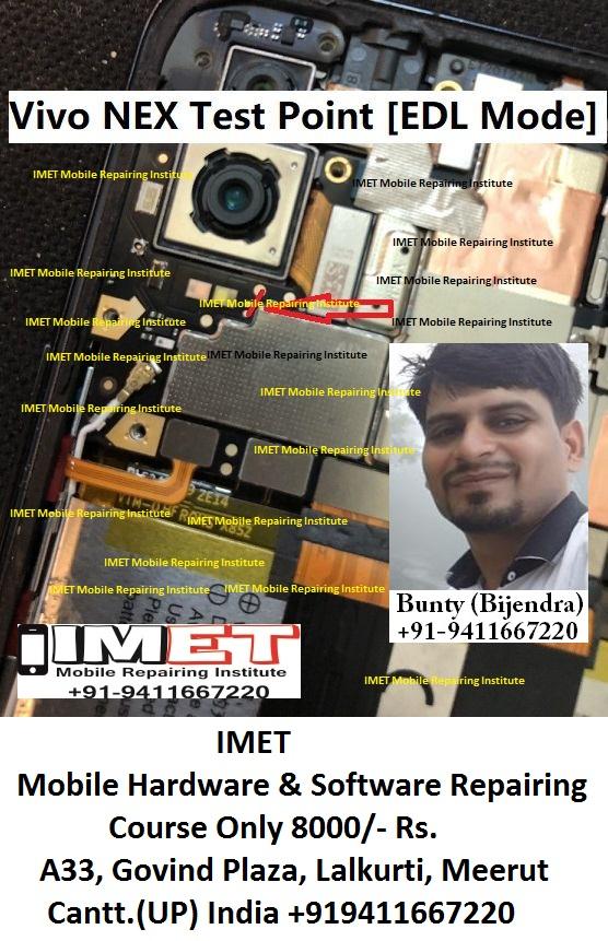 Vivo NEX Test Point [Vivo NEX EDL Mode] - IMET Mobile