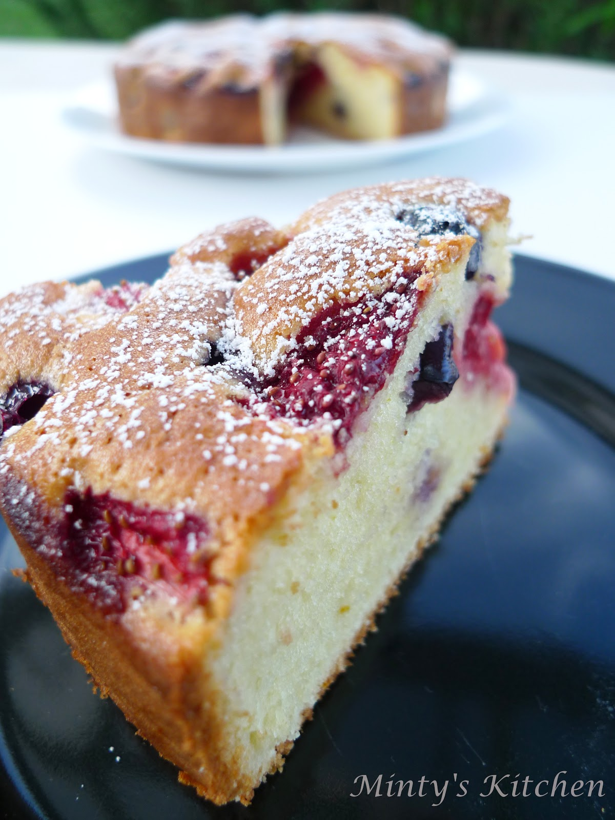 Grape Cake Recipe Maggie Beer