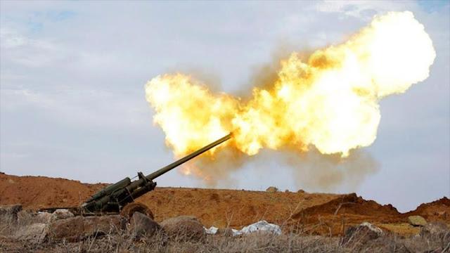 Turquía abate a 20 terroristas en bombardeos en el norte de Siria