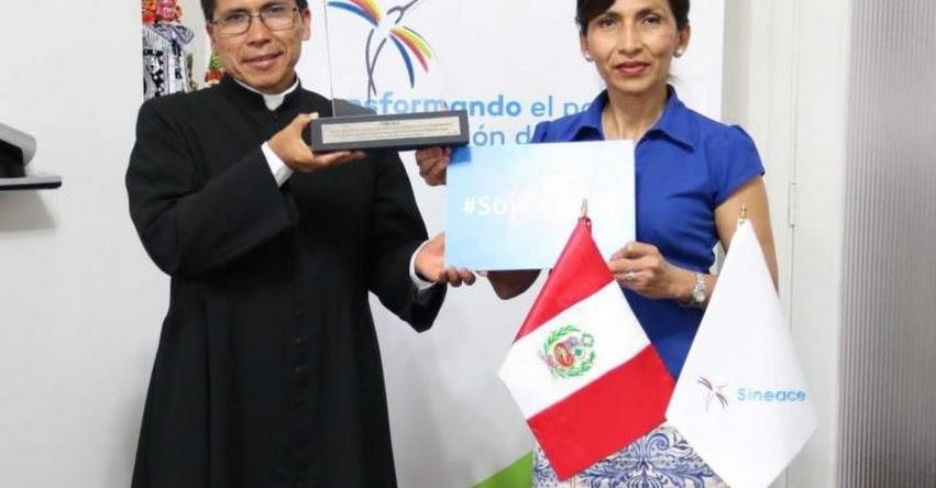 Instituto Pedagógico San José de Cañete logra acreditación institucional del SINEACE - www.sineace.gob.pe