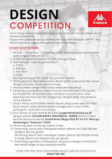Design Competition Kaos KAPPA indonesia