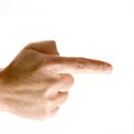 index finger in spanish