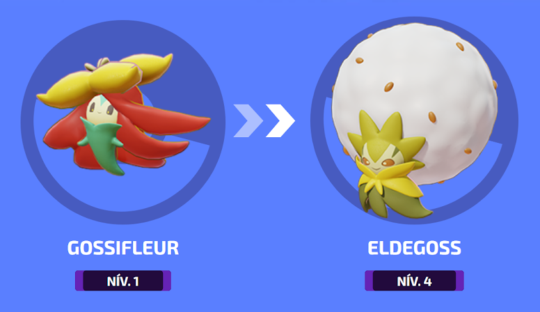 Pokémon Unite - Evolução de Eldegoss