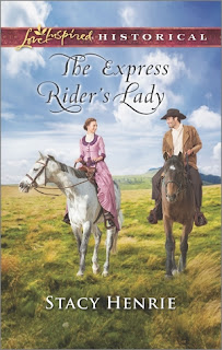 Heidi Reads... The Express Rider's Lady by Stacy Henrie