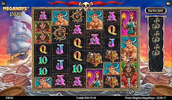 Main Gratis Slot Indonesia - Pirate Kingdom Megaways (Iron Dog Studio)